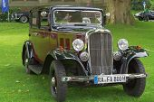 BADEN-BADEN, GERMANY- JULY 13: A CITROEN (1935)  at The International Exhibition of old cars