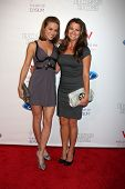 LOS ANGELES - JUN 9:  Melissa Claire Egan, Chrishell Stause arriving at the Art of Elysium Return of