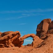 Natural Arch, Valley of Fire, Nevada