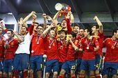 España - el ganador de la UEFA EURO 2012