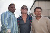 MOSCOW, RUSSIA, JULY, 18: Sean Bean, Christian Slater, Ving Rhames. Premiere of the movie