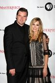 LOS ANGELES - JUL 21:  Brendan Coyle, Joanne Froggatt at a photocall for