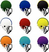 Colored Helmets