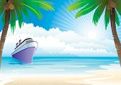 stock photo of bon voyage  - Bon Voyage Vacation  - JPG