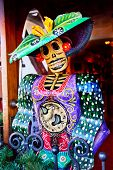 Mexican Christmas Dead Figure Decorations Old San Diego Town California
