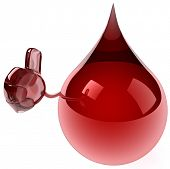 stock photo of hemorrhage  - Blood - JPG