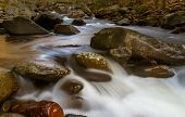 Smoky Mountains, river flow