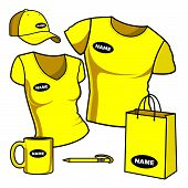T-shirt men and women promotional items
