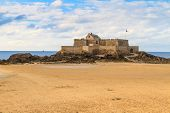 Saint Malo View On Fort National, France