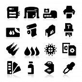 stock photo of cartridge  - Printing Icons - JPG