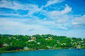 Beautiful View Of Saint Lucia, Caribbean Islands
