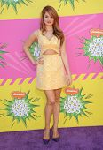 LOS ANGELES - MARCH 23:  Debby Ryan arrives to the Kid's Choice Awards 2013  on March 23, 2013 in Lo