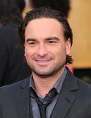 LOS ANGELES - JAN 27:  Johnny Galecki arrives to the SAG Awards 2013  on January 27, 2013 in Los Angeles, CA