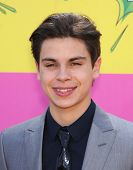 LOS ANGELES - MARCH 23:  Jake T. Austin arrives to the Kid's Choice Awards 2013  on March 23, 2013 in Los Angeles, CA.
