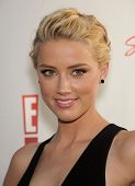 LOS ANGELES - AUG 11:  AMBER HEARD arriving to Summer TCA Party 2011 - NBC  on August 11, 2011 in Beverly Hills, CA