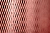 Red Metal Grill Seamless Pattern