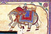 India, Mandawa: Colourful Frescoes