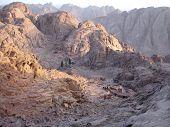 Mount Sinai oder der Mount Gottes