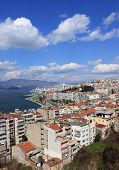 Izmir's  View From Asansor Tower
