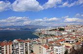 View On Izmir  From Asansor Tower