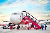 Airasia Boarding Plane