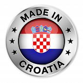 Made In Croatia Silver Badge