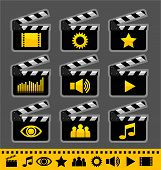 Video_and_audio icon set