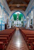 Santa Lucia Church In San Cristobal De Las Casas, Chiapas, Mexico