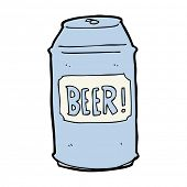 cartoon beer can