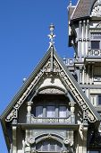 19Th Xix Century Upper Class Restored Historic Heritage House High Gables Exterior Detail North Amer