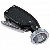 picture of dynamo  - black flashlight - JPG