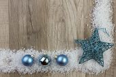 Christmas Ornament Turquoise
