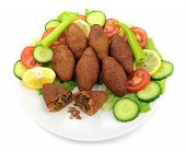 Turkish dish,( icli kofte )