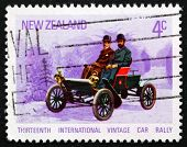 Postage Stamp New Zealand 1972 Oldsmobile, 1904