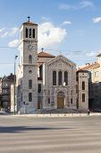 Sarajevo, Bosnia and Herzegovina - May, 11 2014: Saint Joseph's Church,  is a Roman Catholic church