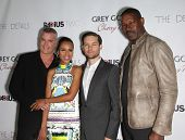 LOS ANGELES - OCT 29:  Ray Liotta, Kerry Washington, Tobey Maguire & Dennis Haysbert arrives to the