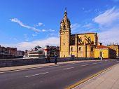 San Anton Church In Bilbao