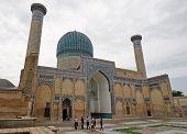Mausoleum, Samarkand, Uzbekistan
