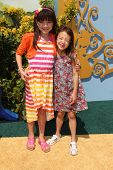 LOS ANGELES - MAY 3:  Chloe Noelle, Aubrey Anderson-Emmons at the