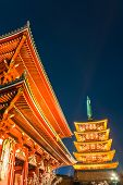 stock photo of shogun  - Sensoji - JPG