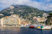 Port Of Fontvieille. Monaco