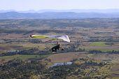 Hang Glider 3 In Queensland Australia
