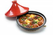 picture of tagine  - kofta tajine - JPG