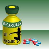 Anti depressant capsules