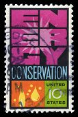 Energy Conservation Us Postage Stamp