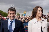 Denmark Prince Frederik And Princess Mary