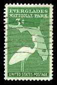 Everglades National Park Us Postage Stamp