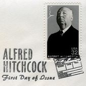 Alfred Hitchcock Us Postage Stamp