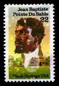 Jean Baptiste Pointe Du Sable Us Postage Stamp