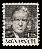 Fiorello H La Guardia Us Postage Stamp